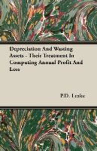 Depreciation And Wasting Assets - Their Treatment In Computing A