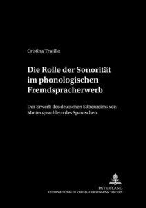 Die Rolle der Sonorität im phonologischen Fremdspracherwerb