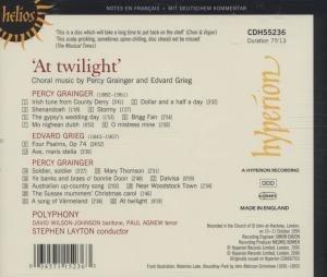 At twilight-Chorwerke