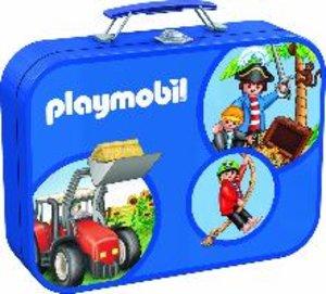 Schmidt Spiele 55599 - Playmobil: Puzzle-Box, 2 x 60/2 x 100 Tei