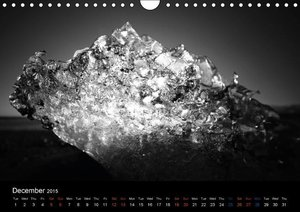 GLACIER from Iceland (Wall Calendar 2015 DIN A4 Landscape)