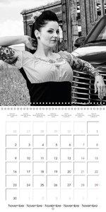 Photography in retro style (Wall Calendar 2015 300 × 300 mm Squa