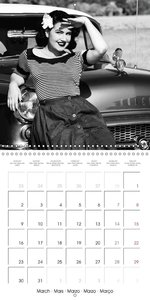 Photography in retro style (Wall Calendar 2015 300 × 300 mm Squa