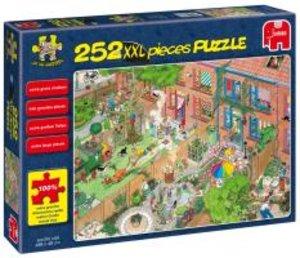 Jumbo Spiele 17081 - Nachbarn, XXL Puzzle, 252 Teile
