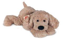 Teddy Hermann 92893 - Schlenkerhund, beige, 40 cm