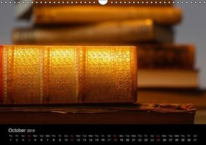 World of the books / UK-Version (Wall Calendar 2015 DIN A3 Lands