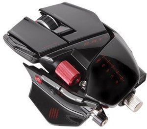 R.A.T. 9 Wireless Gaming Mouse für PC and Mac - Gloss Black