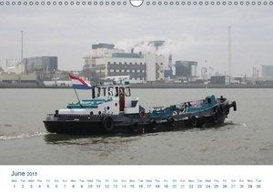 West of Rotterdam Vlaardingen (Wall Calendar 2015 DIN A3 Landsca