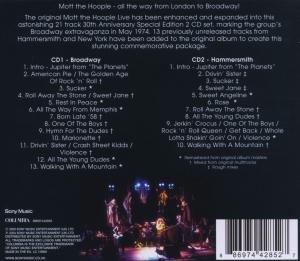 Mott The Hoople Live-Thirtieth Anniversary Edition