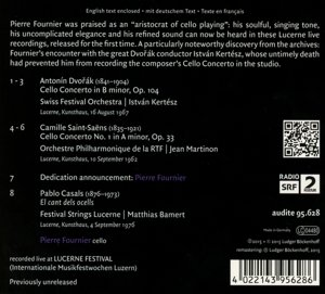 Lucerne Festival,Vol.7-Pierre Fournier