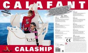 Calafant C4000X - Calaship XXL-Piratenschiff, begehbar aus Pappe
