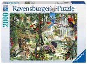 Ravensburger 16610 - Dschungelimpressionen, Puzzle, 2000 Teile