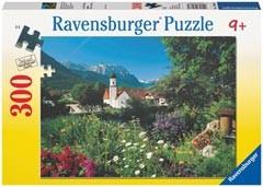 Ravensburger 13066 - Wallgau, Bayerische Alpen, Puzzle, 300 Teil - zum Schließen ins Bild klicken