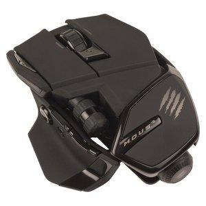 M.O.U.S. 9 Wireless Mouse, Maus, matt-schwarz