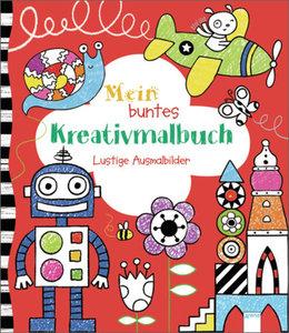 Mein buntes Kreativmalbuch. Lustige Ausmalbilder