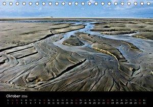 Wattlandschaften (Tischkalender 2016 DIN A5 quer)
