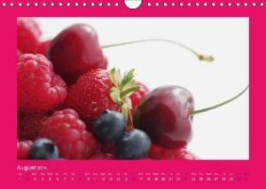Fresh fruits and all kinds of Healthy Eating UK Vesion (Wall Cal