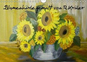 Blumenkörbe gemalt von Rosemarie Kröber (Wandkalender 2016 DIN A