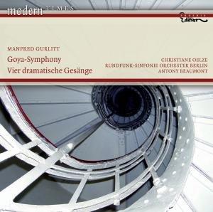 Beaumont/Oelze/RSO Berlin: Goya-Symphonie/Vier Dramatische G