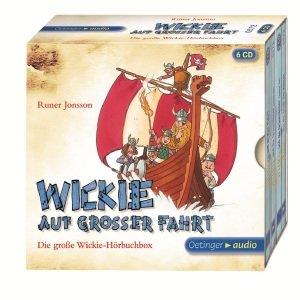Wickie auf großer Fahrt - Die große Wickie-Hörbuchbox