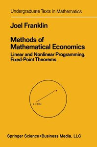 Methods of Mathematical Economics