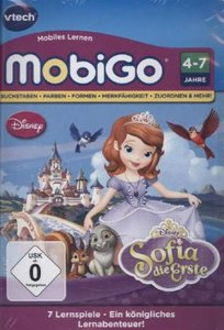VTech 80-253204 - MobiGo Lernspiel: Sofia die Erste
