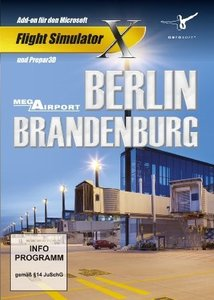 Flight Simulator X -FSX Mega Airport Berlin-Brandenburg