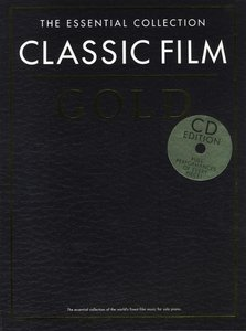 ESSENTIAL COLLECTION CLASSIC FILM GOLD PIANO BOOK/2CDS