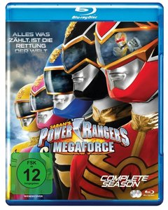 Megaforce-Die Komplette Serie (Blu-ray)