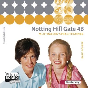 Notting Hill Gate 4 B. CD-ROM Multimedia-Sprachtrainer - Ausgabe
