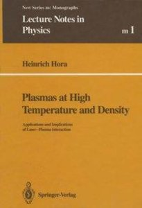 Plasmas at High Temperature and Density