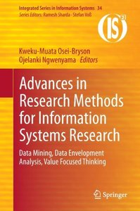 Advances in Research Methods for Information Systems Research