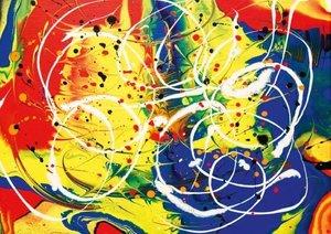 Poèmes en couleurs (Livre poster DIN A3 horizontal)