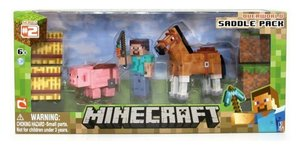 Minecraft - Sammelfigur Pferde & Co. Pack