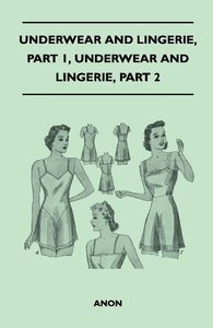 Underwear And Lingerie - Underwear And Lingerie, Part 1, Underwe