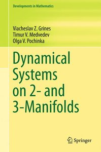 Dynamical Systems on 2- and 3-Manifolds