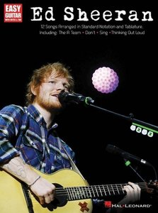 Sheeran Ed For Easy Guitar Guitar Book