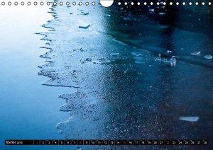 Réflexions sur glace (Calendrier mural 2015 DIN A4 horizontal)