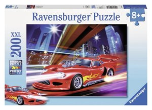 Roter Blitz. Puzzle 200 Teile XXL