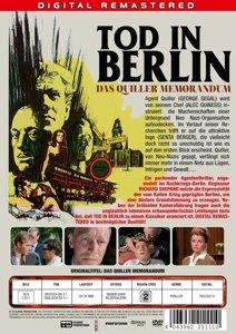 Tod In Berlin-Das Quiller Memorandum