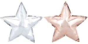 Hänger Rising Star, 2 sortiert, kupfer und silber