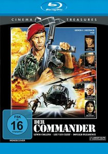 Der Commander-Cinema Treasures-Blu-ray Disc