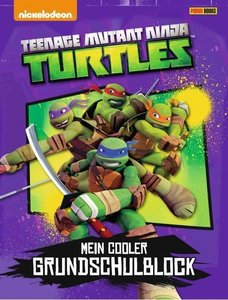 Teenage Mutant Ninja Turtles Grundschulblock