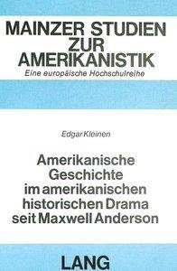Amerikanische Geschichte im amerikanischen historischen Drama se