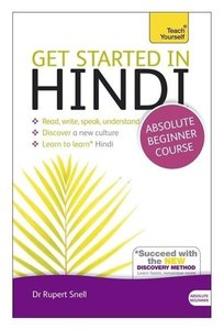 Get Started In Hindi Book/CD Pack: Teach Yourself