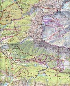DAV Bayerische Alpen 08. Wettersteingebirge, Zugspitze 1 : 25 00