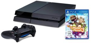 PlayStation 4 Konsole - 500 GB - inkl. Little Big Planet 3