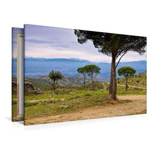 Premium Textil-Leinwand 120 cm x 80 cm quer Pic du Canigou