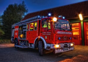 Feuerwehr (Posterbuch DIN A4 quer)