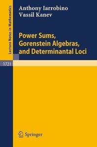 Power Sums, Gorenstein Algebras, and Determinantal Loci